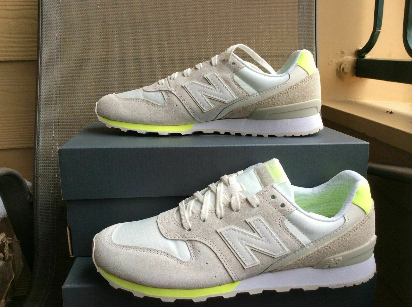 NEW  80 WOMENS NEW BALANCE CLASSICS 696 SUEDE SNEAKER SHOES WL696STS