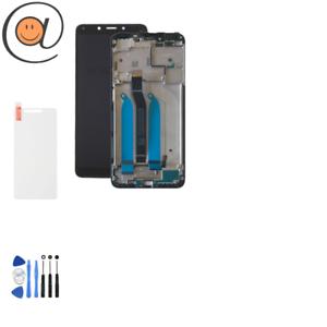Ecran-LCD-Xiaomi-Redmi-6-Redmi-6A-Noir-sur-Chassis-Frame-Cadre-5-45-034