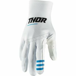 Thor Agile Gloves S20 for Offroad Dirt Bike Motocross Black Tattoo or Red
