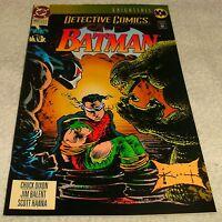 DC COMICS DETECTIVE COMICS BATMAN # 660 VF+ KNIGHTFALL PT 4
