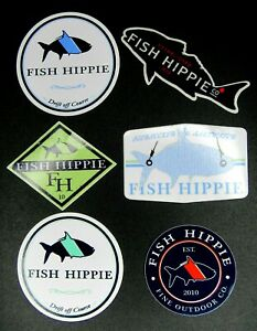 """5/"""" Owner Fishing Hooks High Quality Decal Sticker Tackle Box Boat Truck Trailer"""