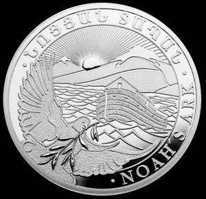 2021-Silver-1-oz-999-Fine-Armenia-500-Dram-Noah-039-s-Ark-Coin-BU-Proof-Like