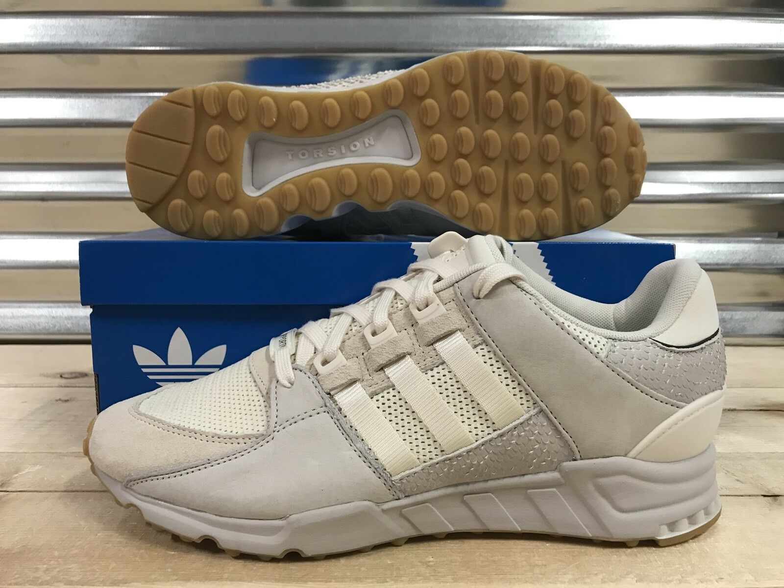 Adidas EQT Support RF Lifestyle Running shoes Tan Beige Gum SZ ( BY9616 )