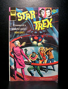 COMICS-Gold-Key-Star-Trek-31-1975-RARE-batman-man-from-uncle-flash
