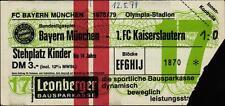 Ticket BL 78/79 FC Bayern München - 1. FC Kaiserslautern
