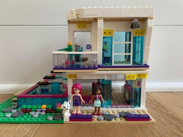 LEGO Friends Livis Pop Star House 41135 for sale online | eBay