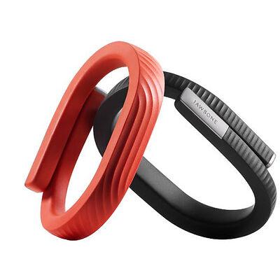 New Jawbone UP24 Activity Tracker Wireless Bluetooth-Black//ORANGE Medium/ Large