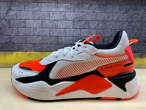 Details about Puma RS-X Toys Reinvention Running System White Red Black Sz  8-11 369579_02 DS