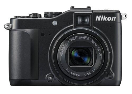 1 of 1 - Nikon COOLPIX P7000 10.1MP Digital Camera - Black
