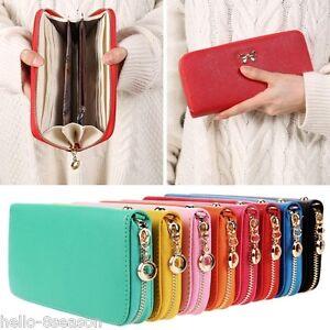 Women-Ladies-Leather-Wallet-Long-Zip-Purse-Card-Phone-Holder-Case-Clutch-Handbag