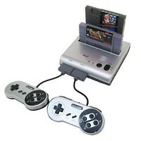 Retro-bit Retro Duo Twin Video Game System Silver/black Retro-bit