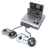 Retro-bit Retro Duo Twin Video Game System Silver/black Retro-bit
