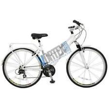 New Schwinn S5397 Discovery Women's Hybrid Bike in White Upright Aluminum Frame