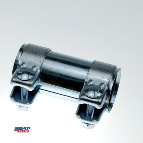 Ø  44 mm x 125 mm Auspuff Doppelschelle Verinder Rohr 2 St