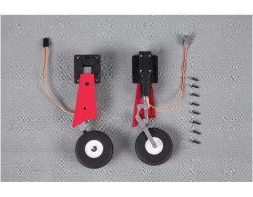 FMS Model Futura rosso 80mm EDF Jet Electric Retract Main Landing Gear Set