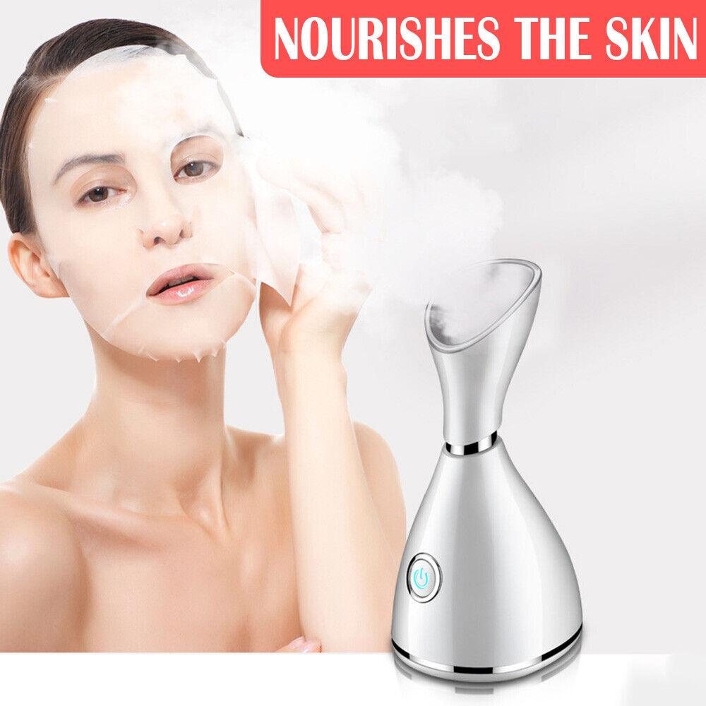 Nano Ionic Facial Steamer Warm Mist Face Humidifier,Face Steamer