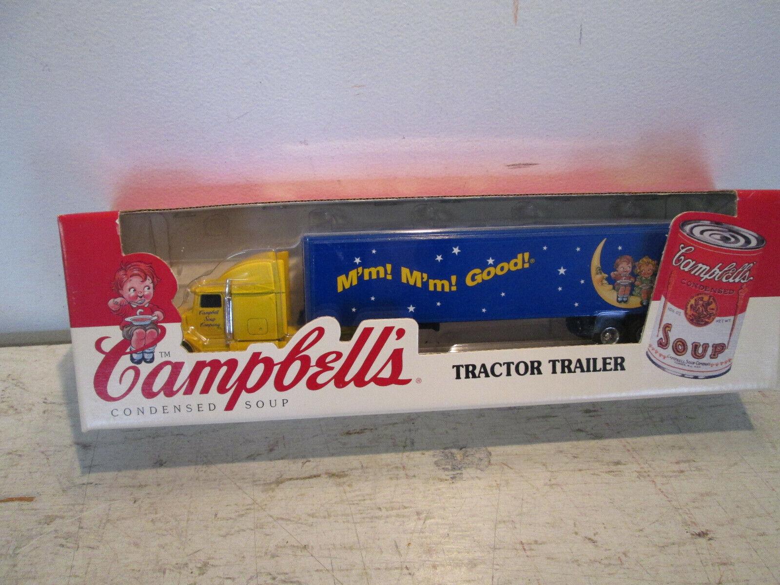 ERTL Campbell's Campbell's Campbell's Soup Die-Cast Tractor Trailer 1 64 1996,  T317 NIB 34d072