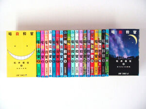 Japanese-Comics-Complete-Set-Assassination-Classroom-vol-1-21