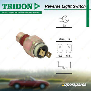 Tridon Reverse Light Switch for Ford Fairlane Falcon LTD AU BA BF EB EF EL XG XH