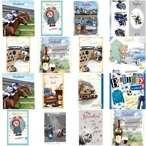 Image Is Loading Job Lot Of 120 ASSORTED BIRTHDAY CARDS MALE