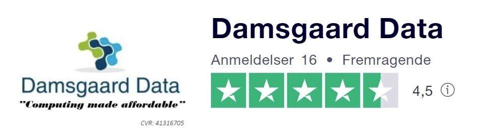 "Andet mærke, DAMSGAARD ""FAIRLY RAW "" GAMER, 3,6 Ghz"