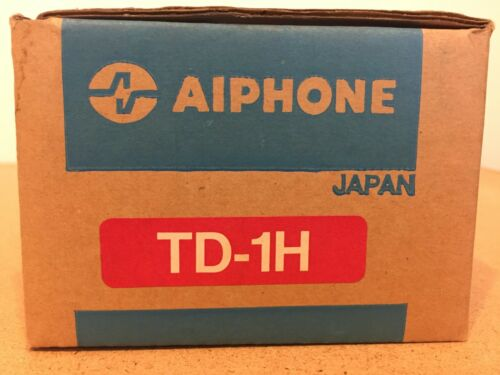AIPHONE TD-1H Call Audio Master Station,6 Conductors G0250988  **FREE UPS SHIP**