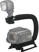 Video Deluxe Stabilizing Bracket Handle For Panasonic Hc-v750 Hc-v550