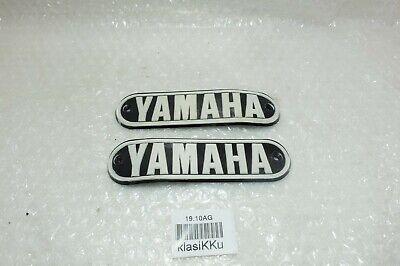 YAMAHA LS2 LS3 HX90 HS2 RS100 RS125 Gas Fuel Petrol Tank Emblem Badge RH NOS