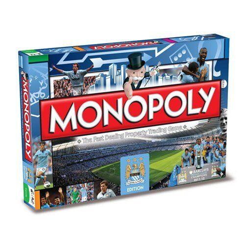 Manchester City FC monopole Football Club Board Game