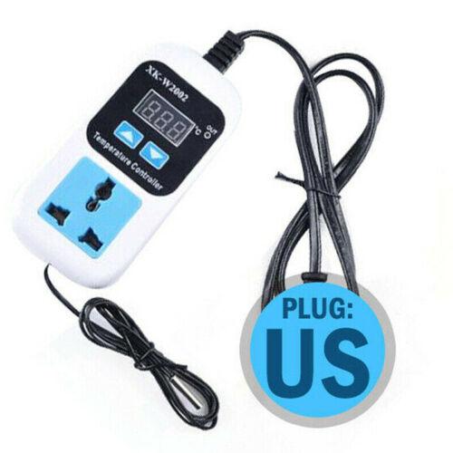 Digital Thermostat Regulator Temperature Controller Socket Outlet  EU//US Plug