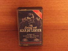An Evening With Alan Jay Lerner : 2 Cassette Box Set : : Recorded Live 1987