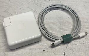Genuine Original OEM APPLE  87W USB-C Power Adapter Charger