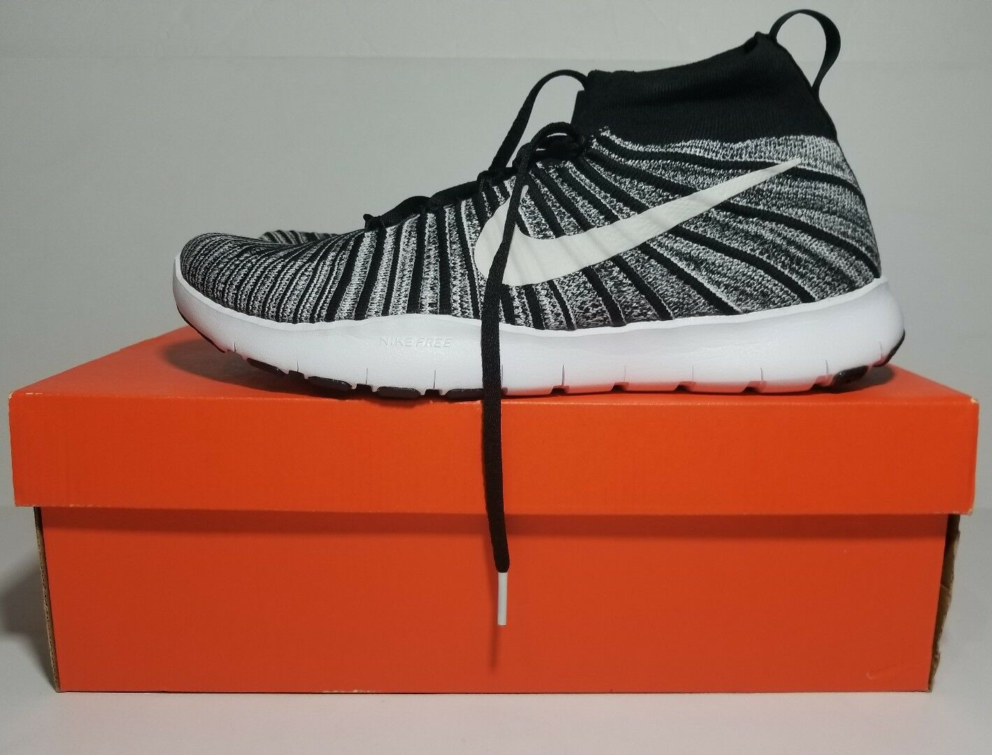 NEW NIKE FREE TRAIN FORCE FLYKNIT Black/White-Volt 833275 007 Price reduction Special limited time Cheap women's shoes women's shoes