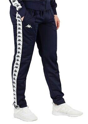 Para hombre Kappa con LOGOTIPO ajustada Chándal Chándal Pantalones Deportivos Pantalones de pista | eBay
