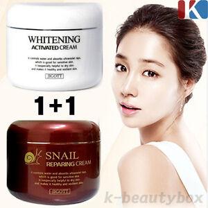 1-1-Whitening-Activated-Cream-100g-Snail-Reparing-Cream-100g-Korean-Cosmetics