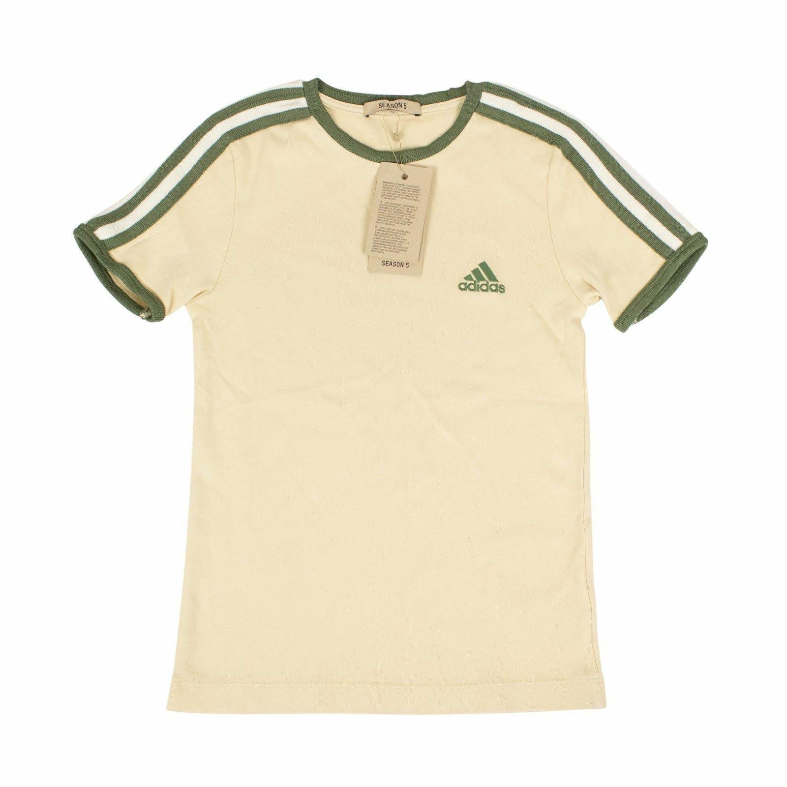 NWT YEEZY Season 5 Jupiter Ranger Beige Adidas Baby T-Shirt Größe XS