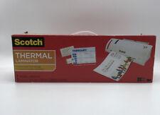 Scotch Thermal Laminator Laminating Machine 2 Roller System Fast Warmsup 3 5 Min