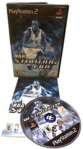 NBA Starting Five W Manual PS2 PlayStation 2 Game