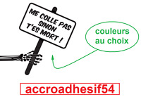 Stickers Humour Me Colle Pas Sinon T'es Mort Tuning Voiture Moto Camion Choi Cou