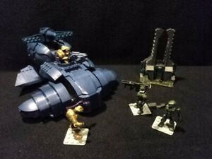 Halo Mega Bloks Universe 96964 Covenant Wraith Review ...  |Covenant Wraith Purple