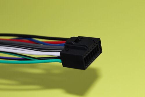 Wire Harness for Kenwood DDX419 KDC-BT648U KDC-HD262U KDC-162U KDC-BT752HD #S