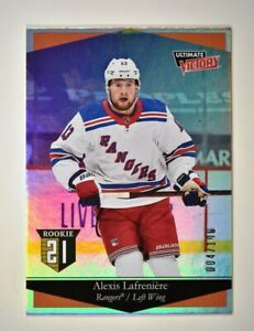 2020-21 UD Extended Series Ultimate Victory Silver #42 Alexis Lafreniere /100 RC