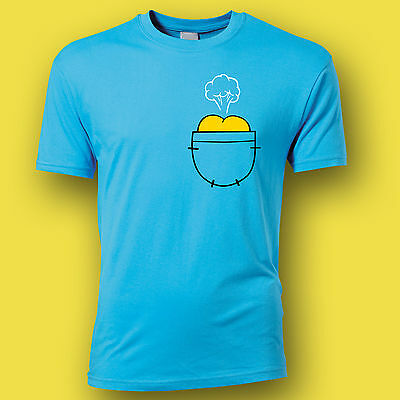 Adventure Time Jake T Shirt Jake Farts In Finns Pocket Funny T/Shirt Small-2xl