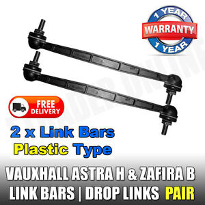 Vauxhall-Astra-H-Mk5-Front-Drop-Links-Stabiliser-Anti-Roll-Bar-Link-x2-NEW