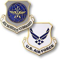Air Mobility Command Challenge Coin Amc Us Usaf Force Airlift Refueling Medevac