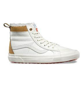 8d2e33b2d06 Vans Sk8 Hi MTE Aimee Fuller Marshmallow Skate Shoes New Women s 10 ...