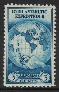 Scott-733-Byrd-Antartida-Expedition-Ii-MNH-3c-1933-sin-Usar-Nuevo-Sello
