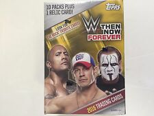 2016 TOPPS WWE THEN NOW FOREVER BLASTER BOX