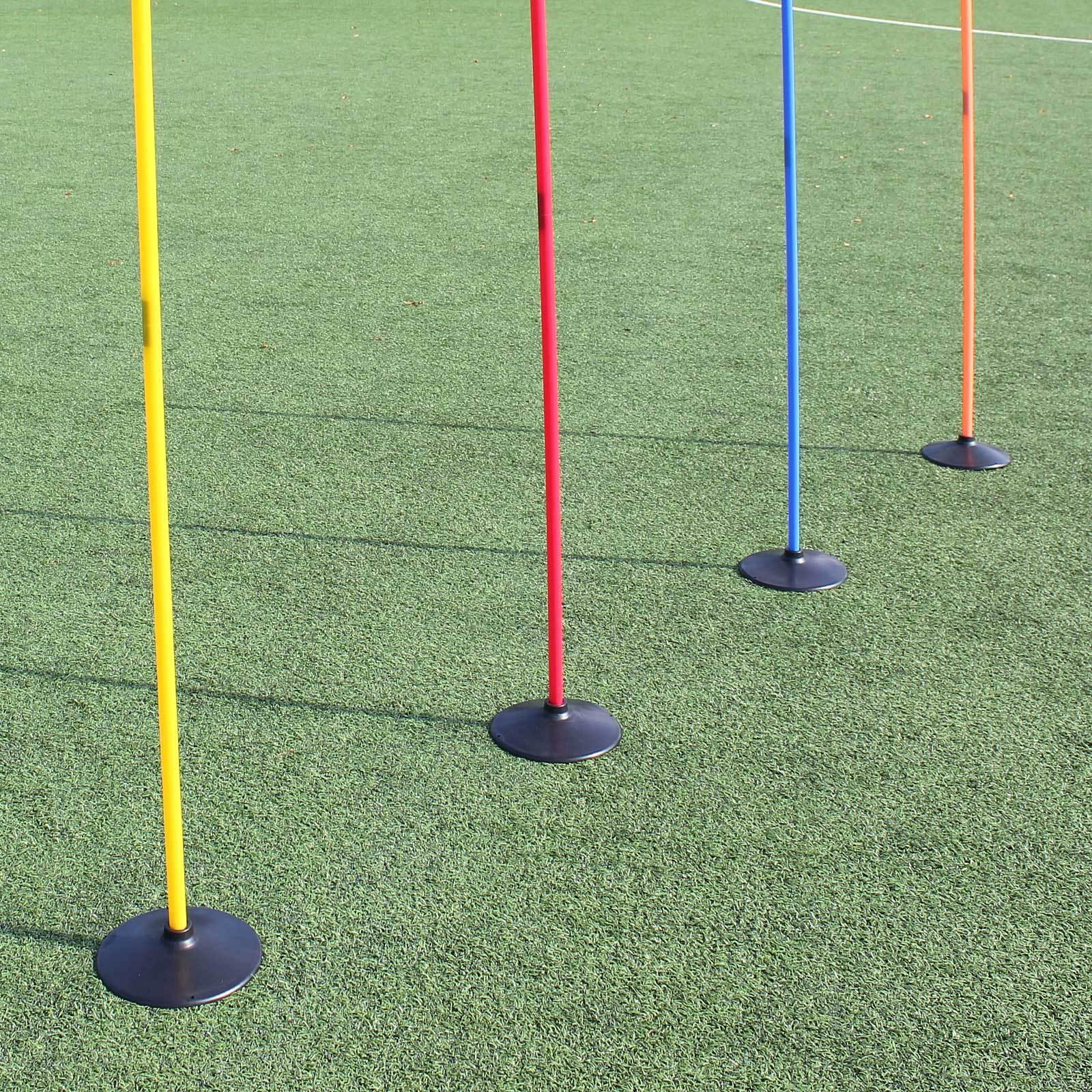 4 x Scheibenfuß Slalomset Stangen 180 cm 4 Farben Farben Farben Neu Superspieler24 eeda6f