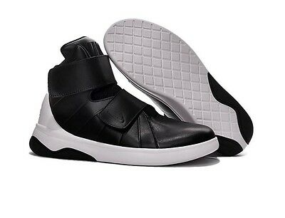 Nike Marxman (GS) Negro/Blanco Zapatos de baloncesto 833916-001 Tenis RRP £ 94.99